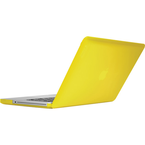 "Incase Designs Corp Hardshell Case for MacBook Pro 13"" Aluminum (Electric Yellow)"