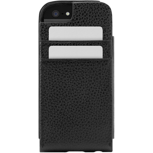 Incase Designs Corp Leather Sleeve For iPhone 5 (Black)