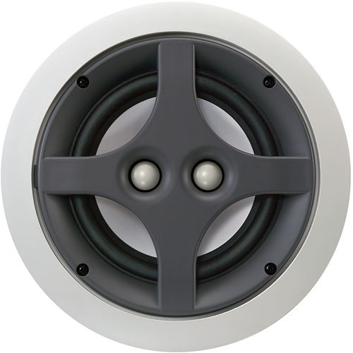"Infinity ERS 110DT 6-1/2"" 2-Way Dual-Channel In-Ceiling Speaker"
