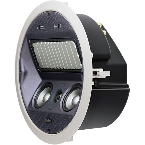 Infinity ERS 610 3-Way Round In-Ceiling Speaker with MRS Woofer Panel