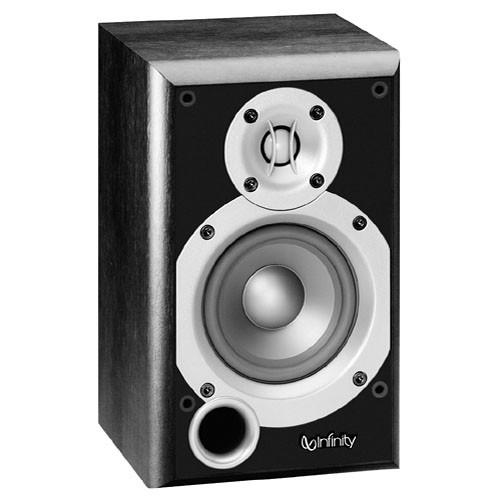"""Infinity P143BK 4"""" 2-Way Passive Bookshelf Speaker (Black)"""