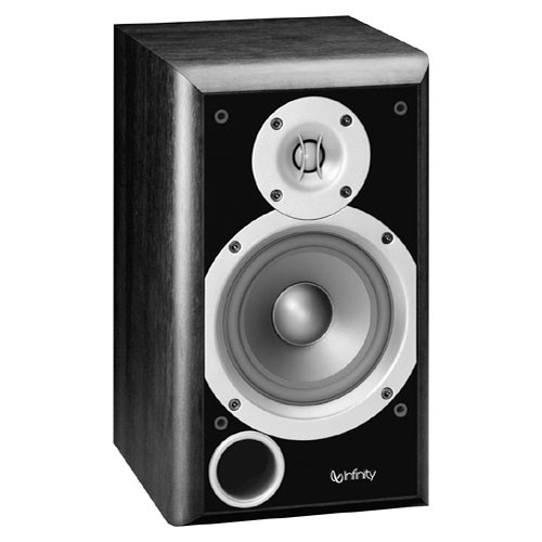 "Infinity P153BK 5.25"" 2-Way Passive Bookshelf Speaker (Black)"