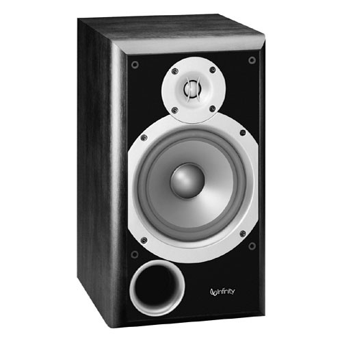 "Infinity P163BK 6.5"" 2-Way Passive Bookshelf Speaker (Black)"