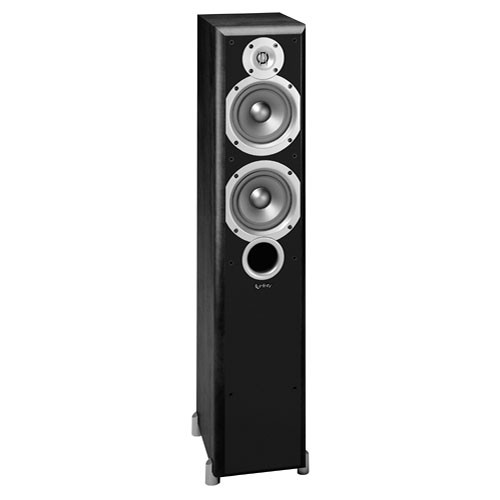 "Infinity P253BK 5.25"" 2-Way Passive Floorstanding Speaker (Black)"