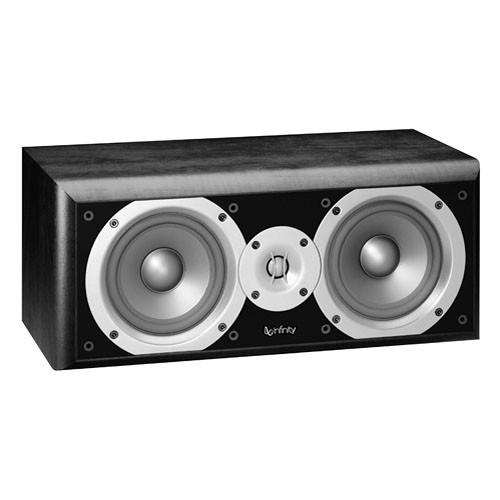 "Infinity PC251BK 5.25"" 2-Way Passive Center Channel Speaker (Black)"