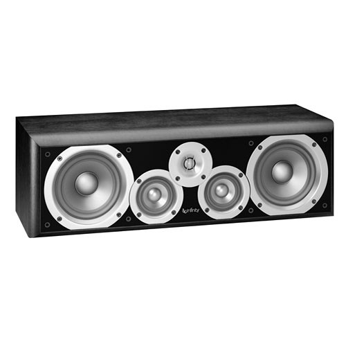 "Infinity PC351BK 5.25"" 3-Way Passive Center Channel Speaker (Black)"