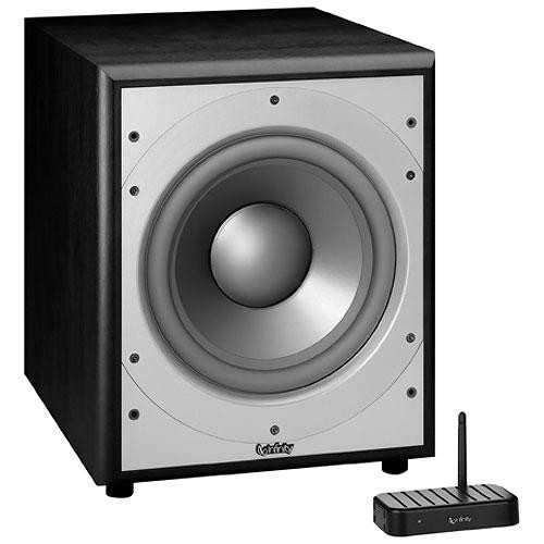 "Infinity PS210WBK 10"" Wireless Powered Subwoofer (Black)"