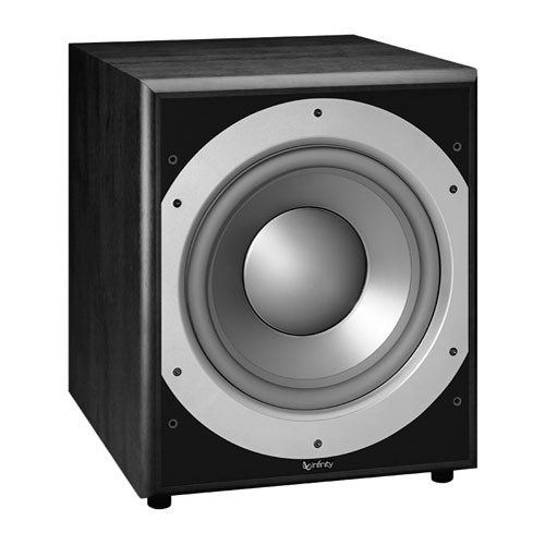 "Infinity PS312BK 400W 12"" Active Subwoofer"