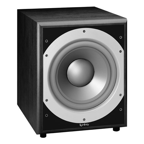 "Infinity PS410BK 300W 10"" Active Subwoofer"