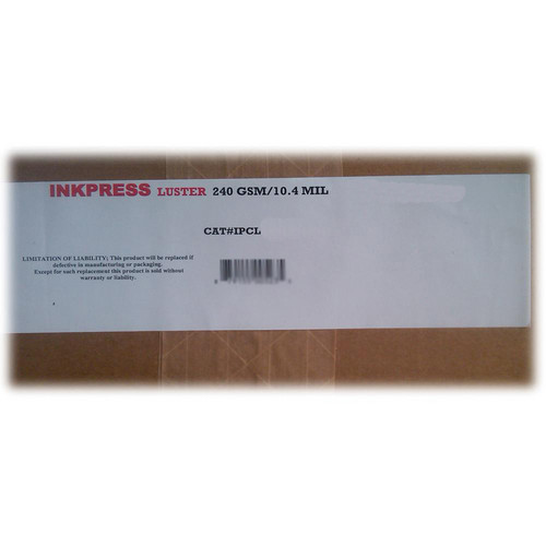 "Inkpress Media Luster Premium Single Sided Photograde Inkjet Paper (17 x 22"", 240 Sheets)"