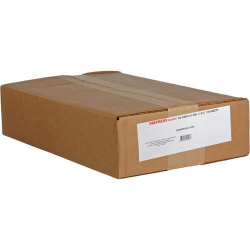"Inkpress Media RC Glossy Inkjet Paper (240gsm) - 11 x 17"" 250 Sheets"