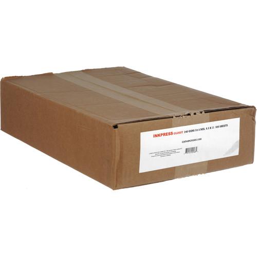 "Inkpress Media RC Glossy Inkjet Paper (240gsm) - 8.5 x 11"" 500 Sheets"