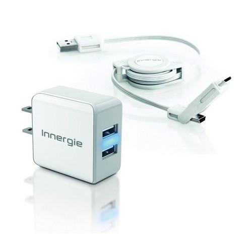 Innergie mMini Combo Wall Dual Charging Kit
