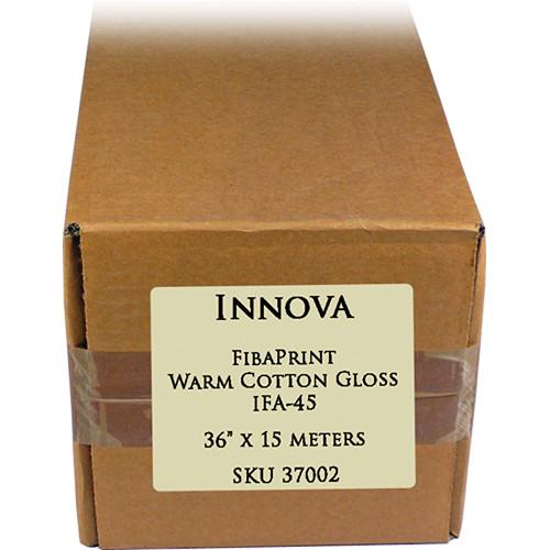 """Innova FibaPrint Warm Cotton Gloss (36"""" x 50' Roll)"""