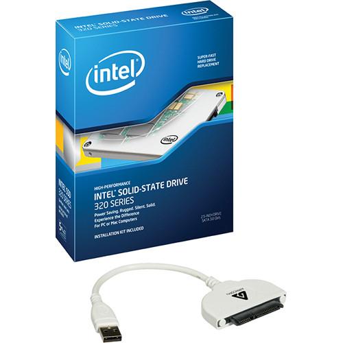 Intel 300GB SSD 320 Series Drive Kit w/ Data Transfer Cable