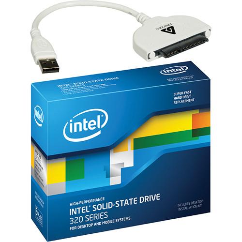 """Intel 600GB SSD 320 Series 2.5"""" SATA MLC Internal Drive with Data Transfer Kit"""