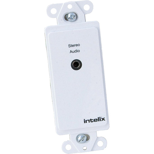 """Intelix AVO-A2MINI-WP-F - Stereo Audio CAT-5 Balun with 1/8"""" (3.5mm) Connector"""