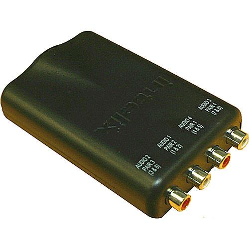 Intelix AVO-A4-F Cat-5 Dual Stereo Audio Modular Balun