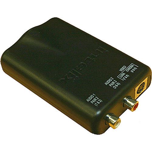 Intelix AVO-SVA2-F Cat-5 Stereo Audio and S-Video Modular Balun
