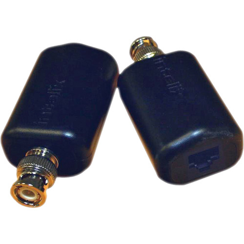 Intelix AVO-V1-Pair-F Cat-5 Composite Video Balun (Pair)