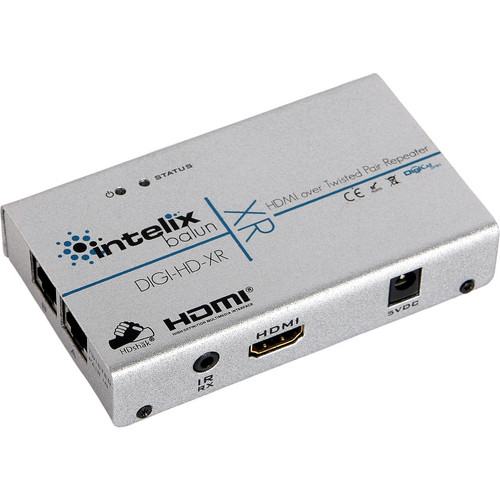 Intelix DIGI-HD-XR HDMI & IR over Twisted-Pair Extender & Repeater