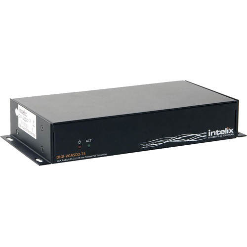 Intelix DIGI-VGASD2-T4 VGA/IR/RS232 Over Twisted-Pair Distribution Amplifier