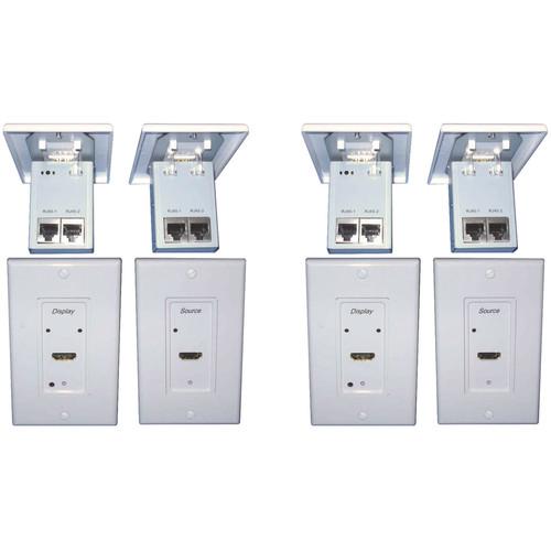 Digitalinx DL-HDCAT-WP Digital Media Converter Set (Transmitter & Receiver Unit)