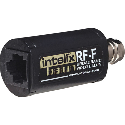 Intelix RF-F Broadband RF Video Cat-5 Balun