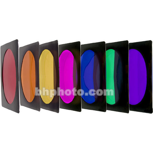"""Interfit Color Filters - Set of 7 (6.7 x 6.7"""")"""
