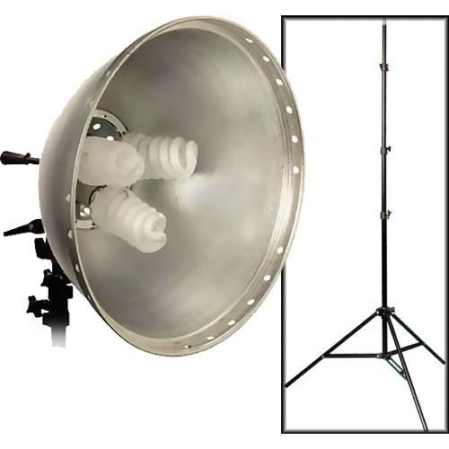 Interfit Interfit Fluorescent Flood Light, Bulbs, Light Stand