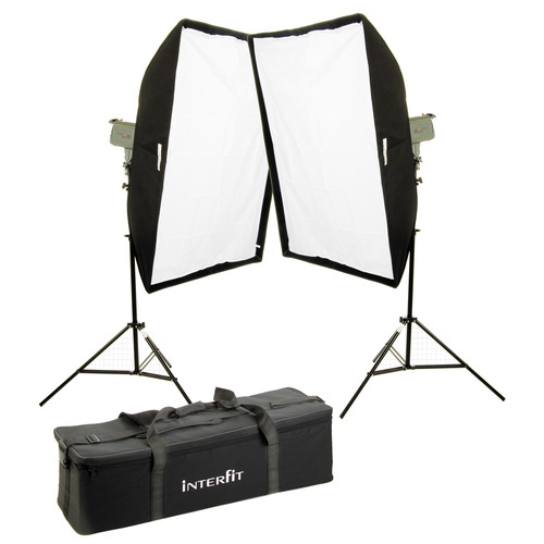 Interfit Stellar X Solarlite Two-Softbox (Medium) Kit