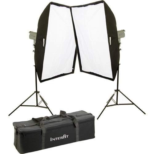 Interfit Stellar X Solarlite Two-Softbox (Large) Kit