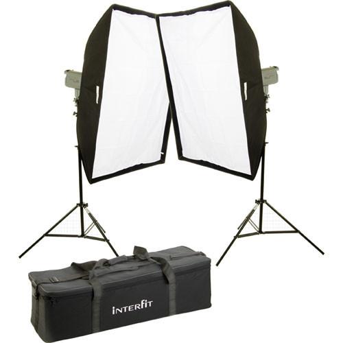 Interfit Stellar X Solarlite Two-Softbox (Large) Kit