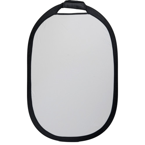 """Interfit Collapsible Reflector - 36x24"""" - Sunlight/White"""
