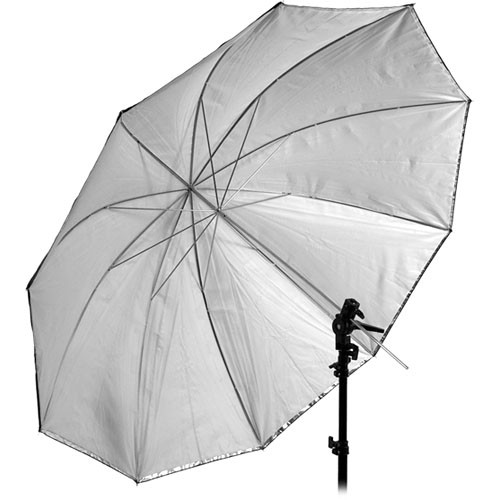 "Interfit Translucent Black/Silver Umbrella (60"")"