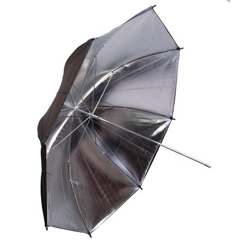 "Interfit INT396 Silver/Black Backing Umbrella - 43"" (109 cm)"