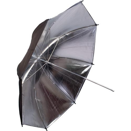 "Interfit INT397 Translucent/Silver/Black Backing Umbrella - 43"" (109 cm)"