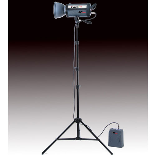 Interfit Stellar Xtreme 150 Watt/Second AC/DC Monolight Kit (120VAC/12VDC)