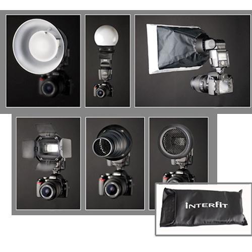 Interfit STR100 Strobies Portrait Kit