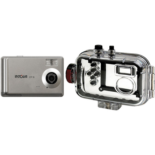 Intova CP9 Digital Camera w/ Underwater Housing