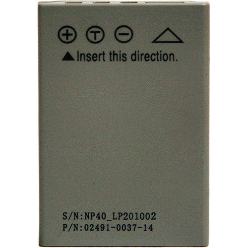 Intova Replacement Battery for IC12 Digital Camera with Waterproof Housing