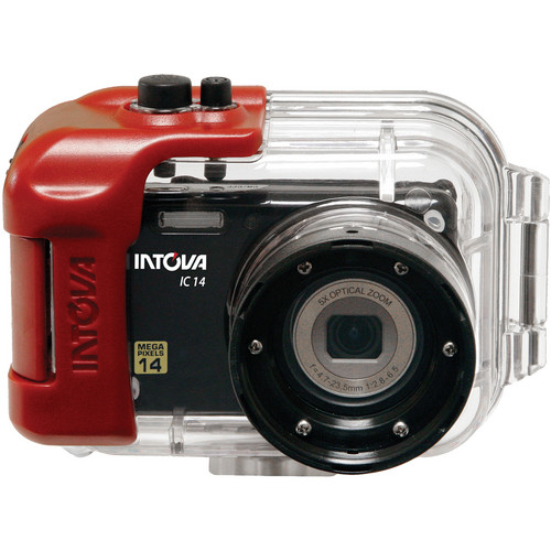 Intova IC14 Digital Camera with Waterproof Housing