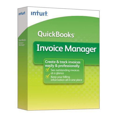 Intuit QuickBooks Invoice Manager 2009 Software for Windows