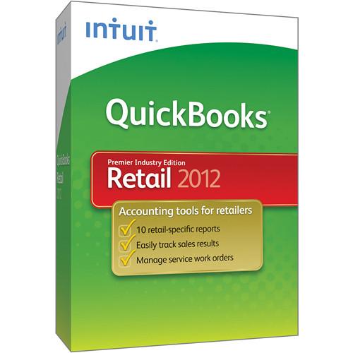 Intuit QuickBooks Premier Retail Industry 2012