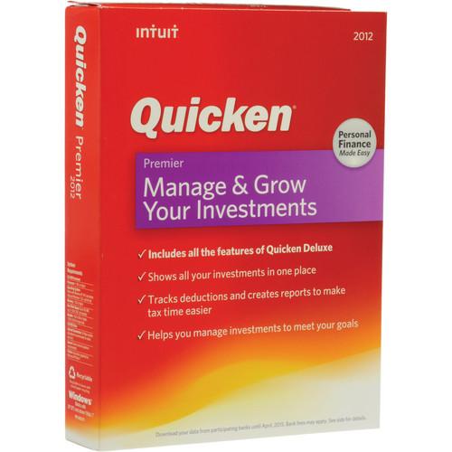 Intuit Quicken Premier 2012 Software