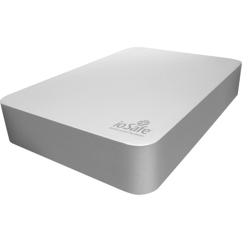 IoSafe Rugged Portable Aluminum Hard Drive with 5 Year DRS - 500GB