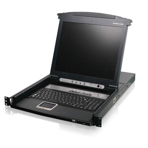 "IOGEAR 8-Port 17"" LCD Combo KVM Switch"