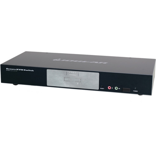 IOGEAR 2-Port Dual-Link DVI Secure KVM Switch