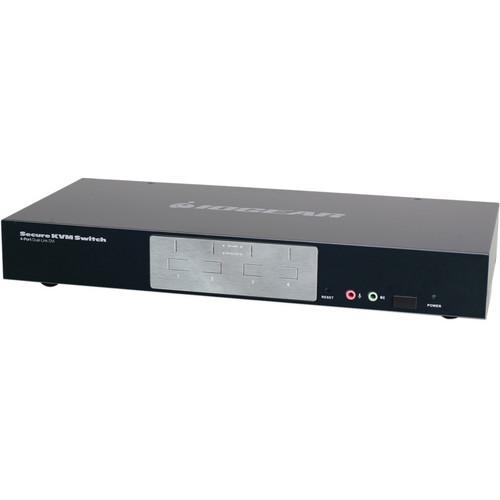 IOGEAR 4-Port Dual-Link DVI Secure KVM Switch
