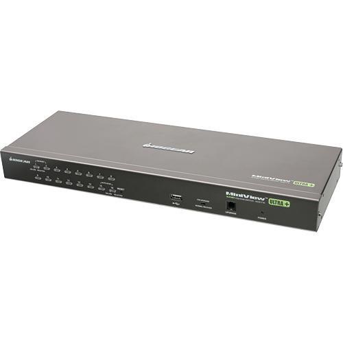 IOGEAR 16-Port PS/2 USB Combo KVM Switch